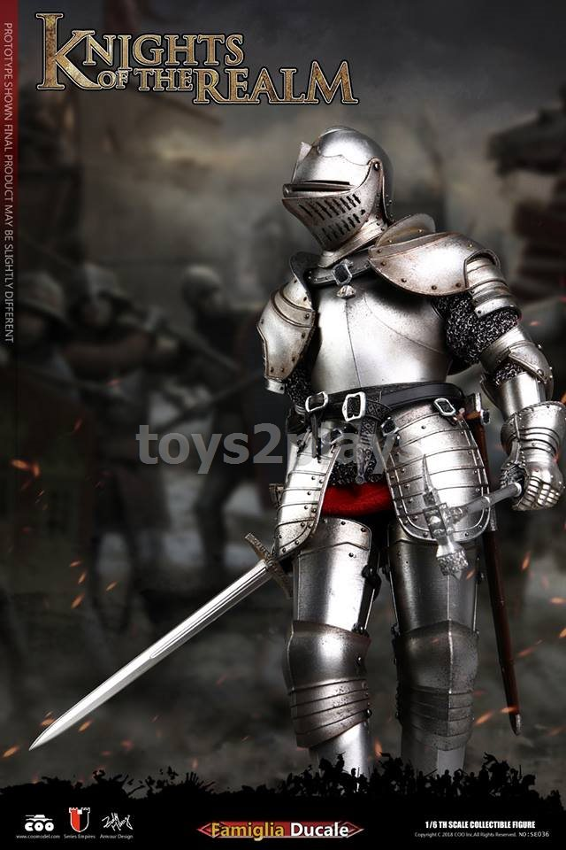 1:6 scale POP TOYS EX019-A Saint Knight Charge version BOOTS metal