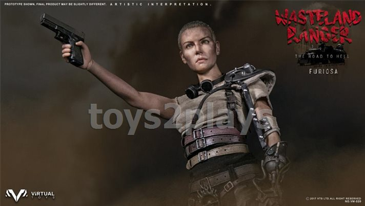 VIRTUAL TOYS Rifle WASTELAND RANGER FURIOSA 1//6 ACTION FIGURE TOYS vts